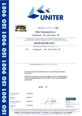 Certificato FMI